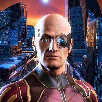 Luca oleastri the cyborg