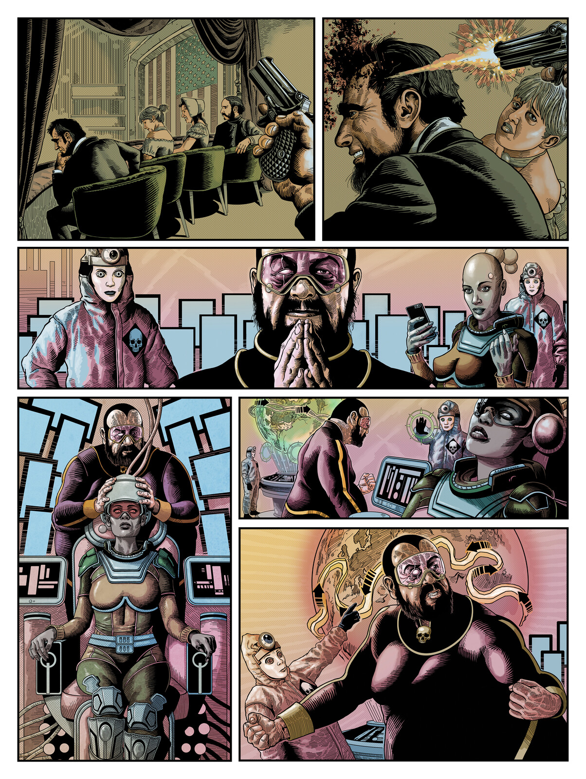 Page3 The Collector Issue 2 of The 77 Colour