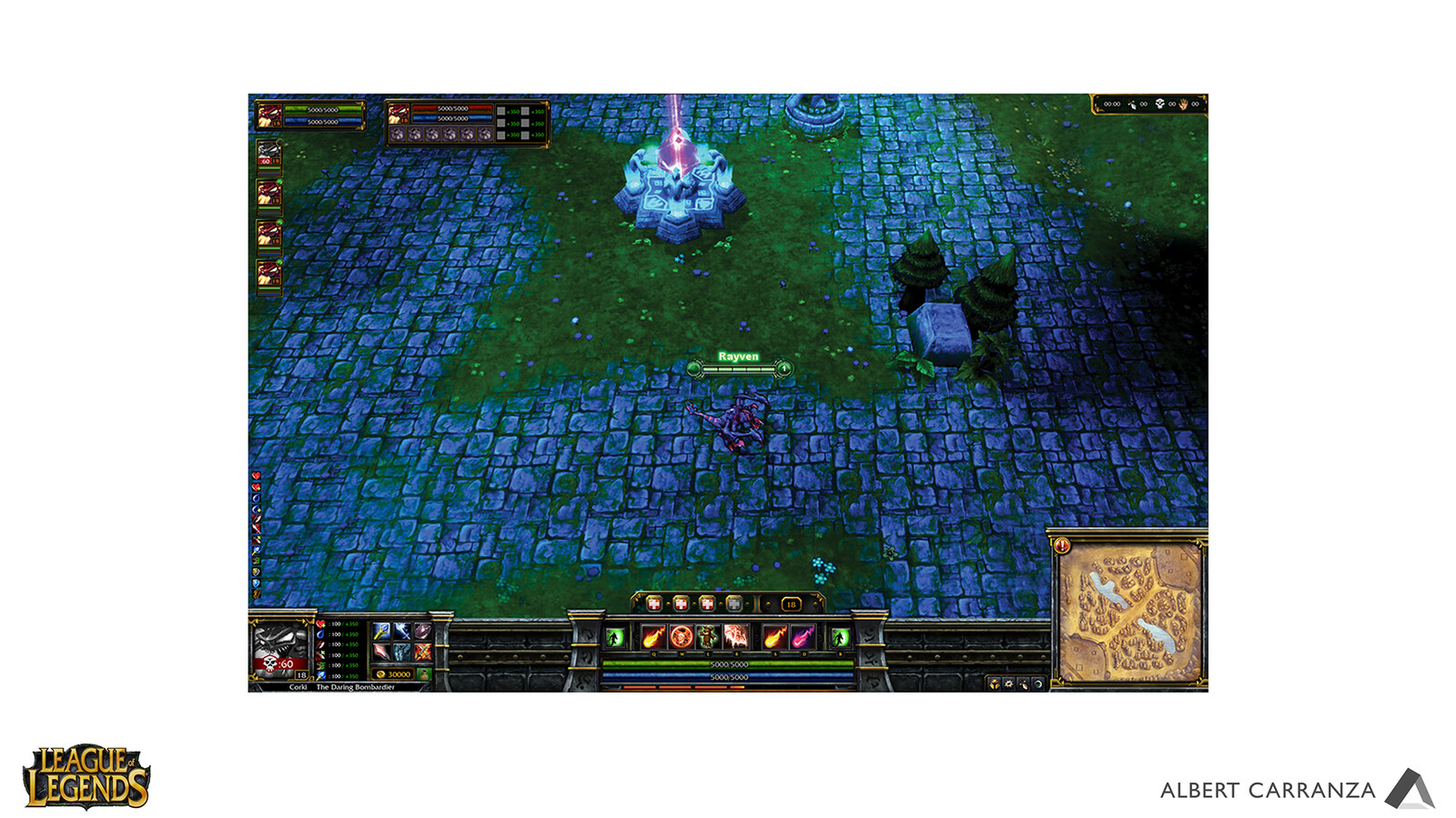 League of Legends HUD