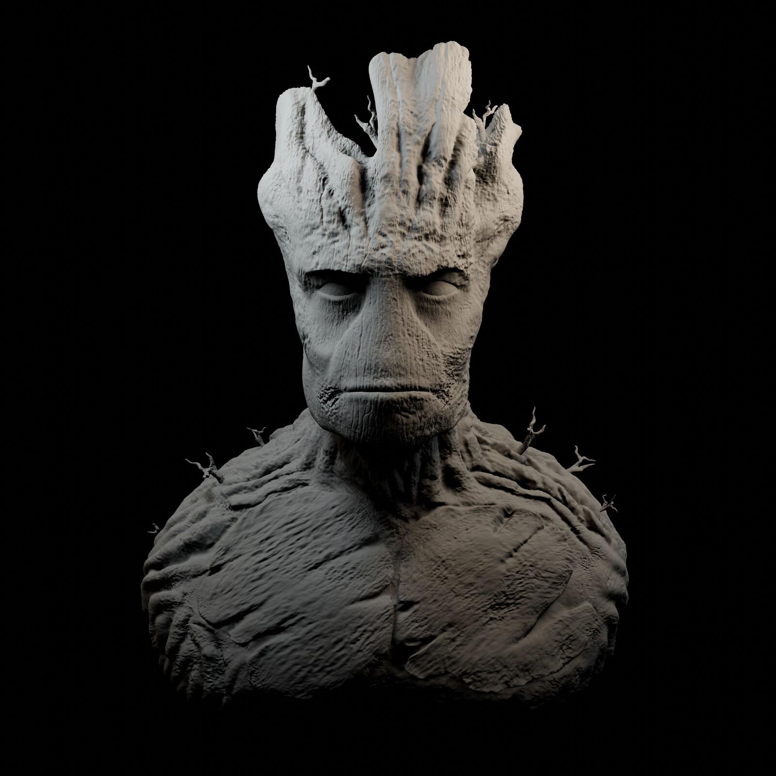 Final sculpt