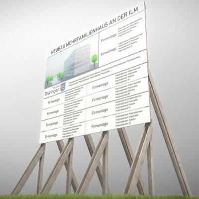 Dennis haupt 3dhaupt 3dhaupt wooden billboard for construction sites 1 modeled and textured in blender 2 835 2