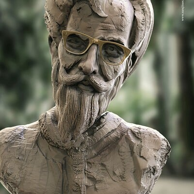 Surajit sen professor2 1 digital sculpture surajit sen aug2020ab