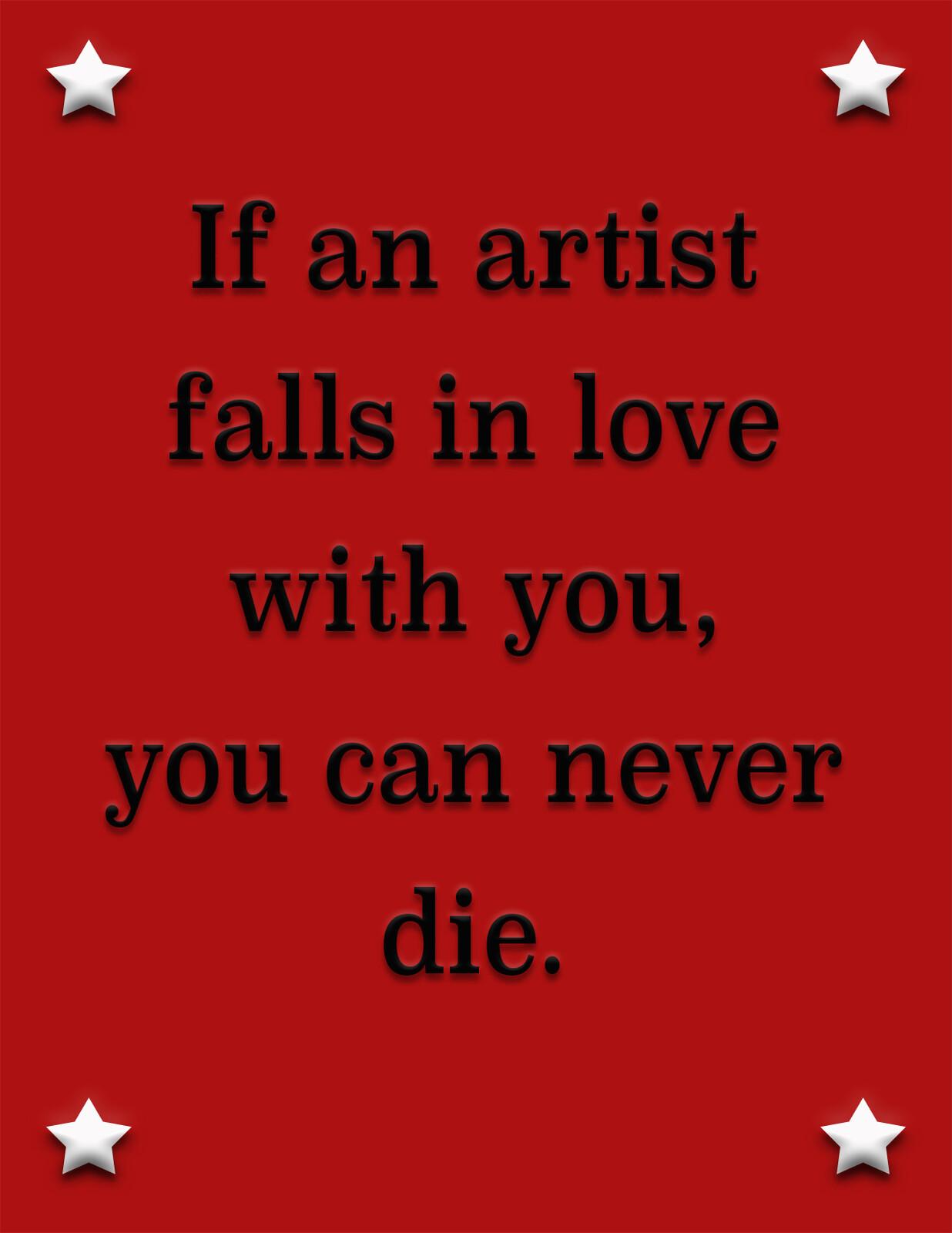 Artist Quote