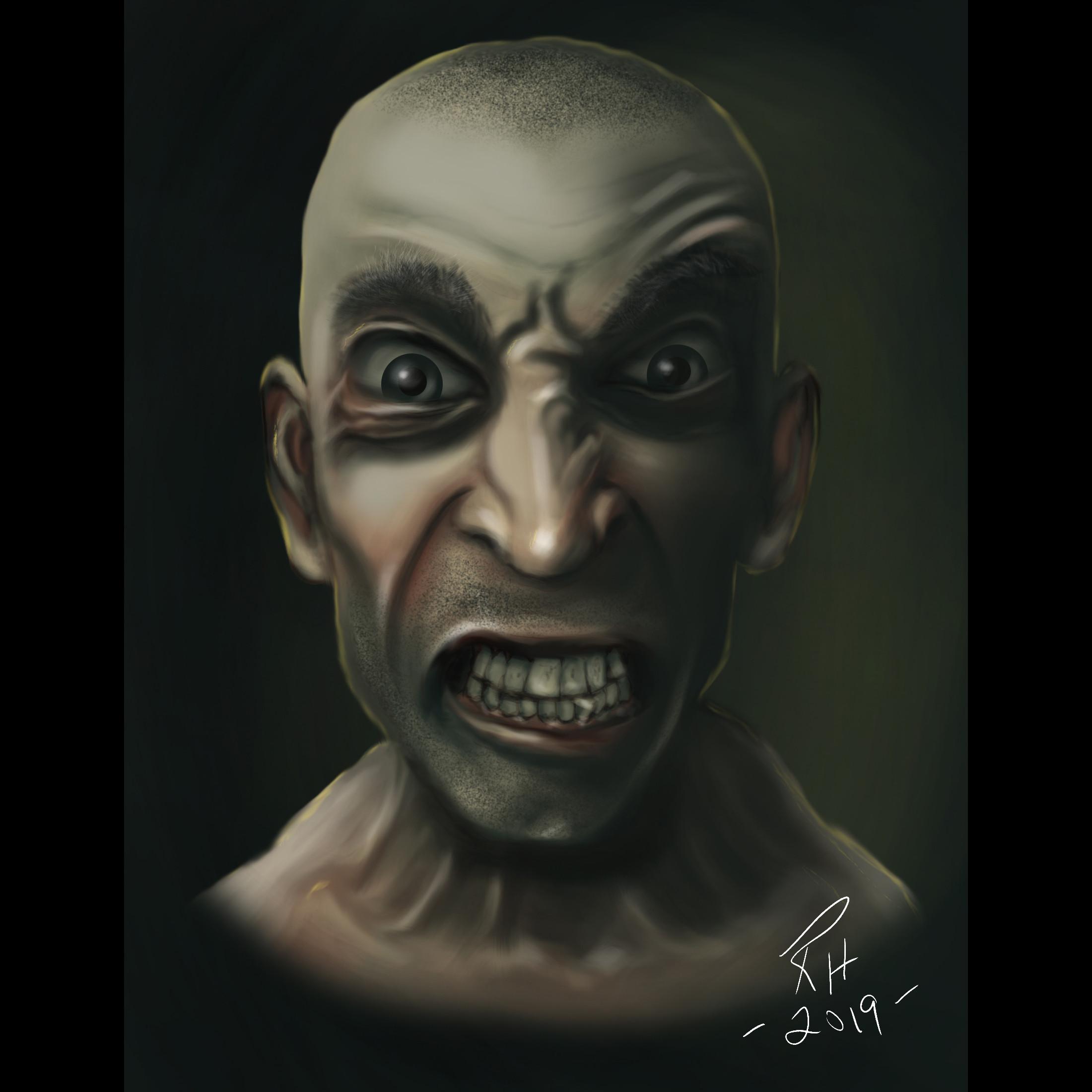 Angry Dude...
