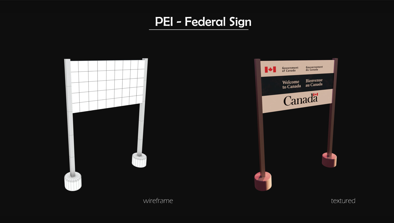 ASSET: Government of Canada Sign