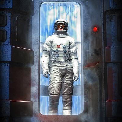 Luca oleastri the cosmonaut