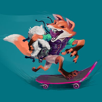 Skater Fox