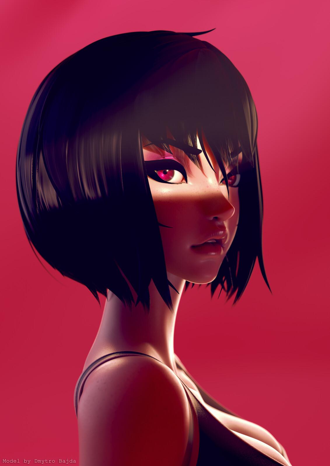 Girl by Demonu4