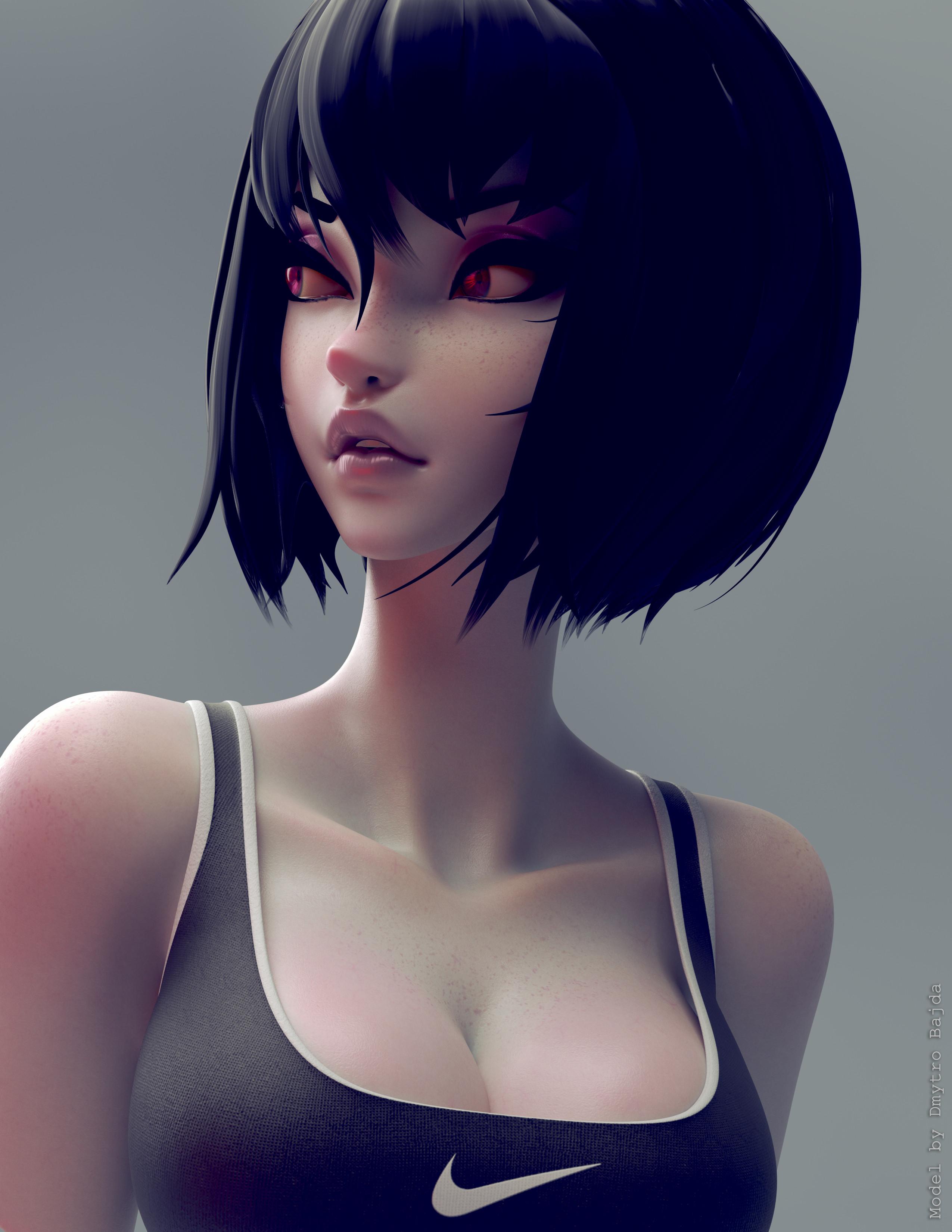 Model By Dmytro Bajda