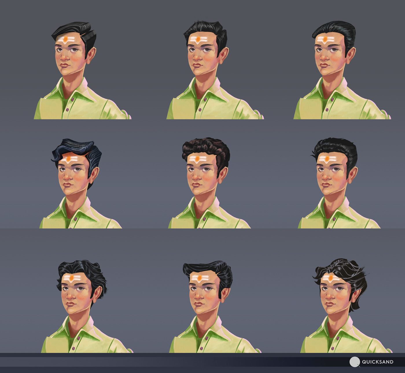 Hairstyles options