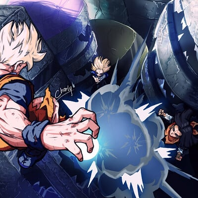 Charly animestation gohan vs androides para redes