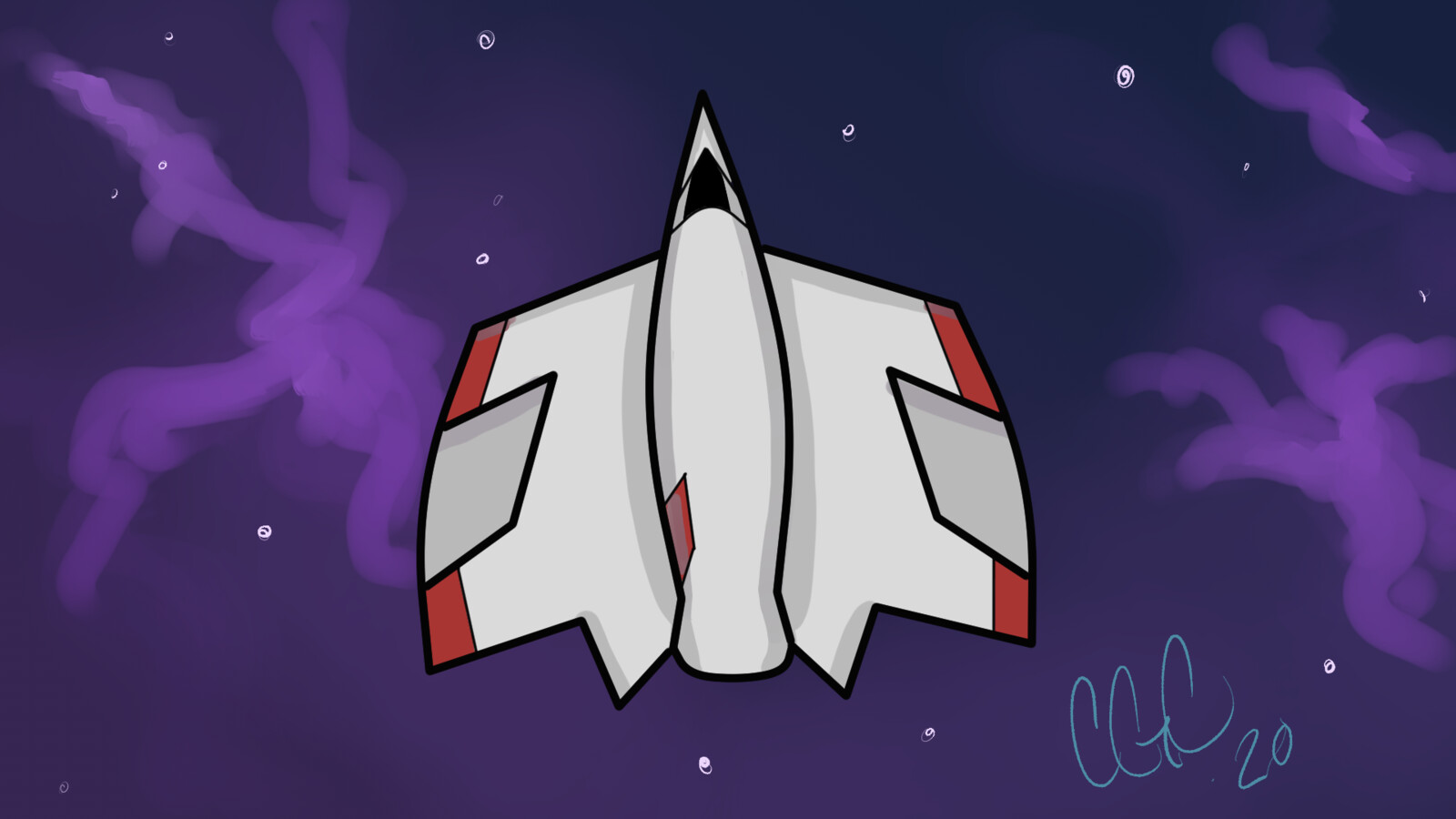 Space Ship for a 2D game