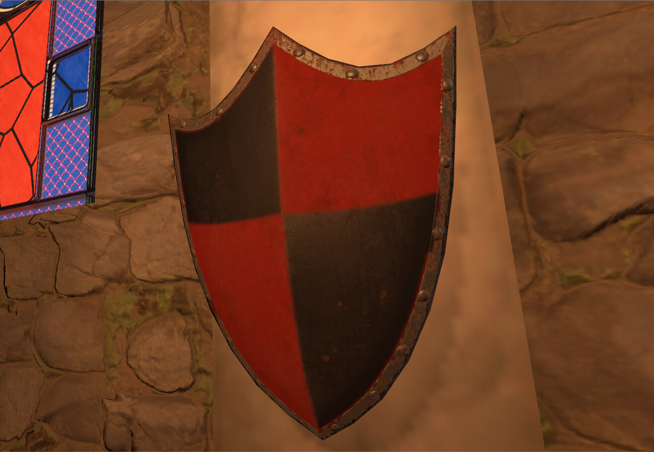 A (not historically accurate) shield