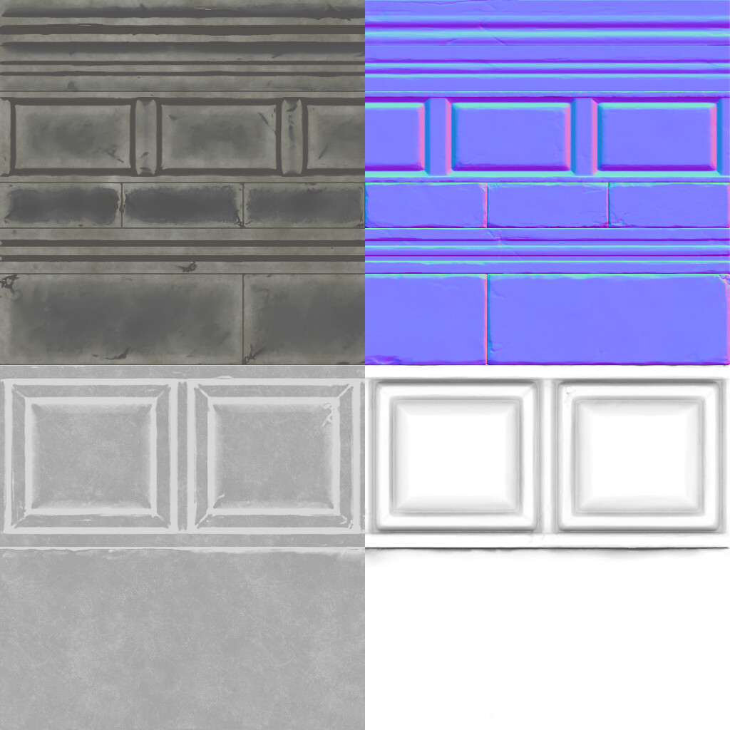 Trim Sheet textures