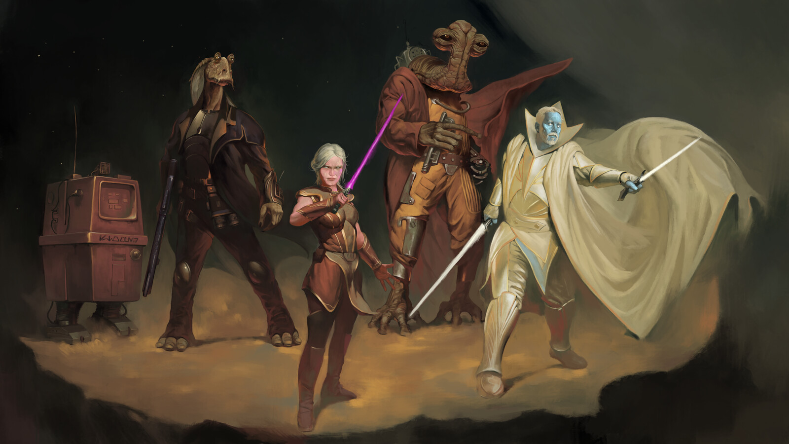 Star Wars Adventuring Party