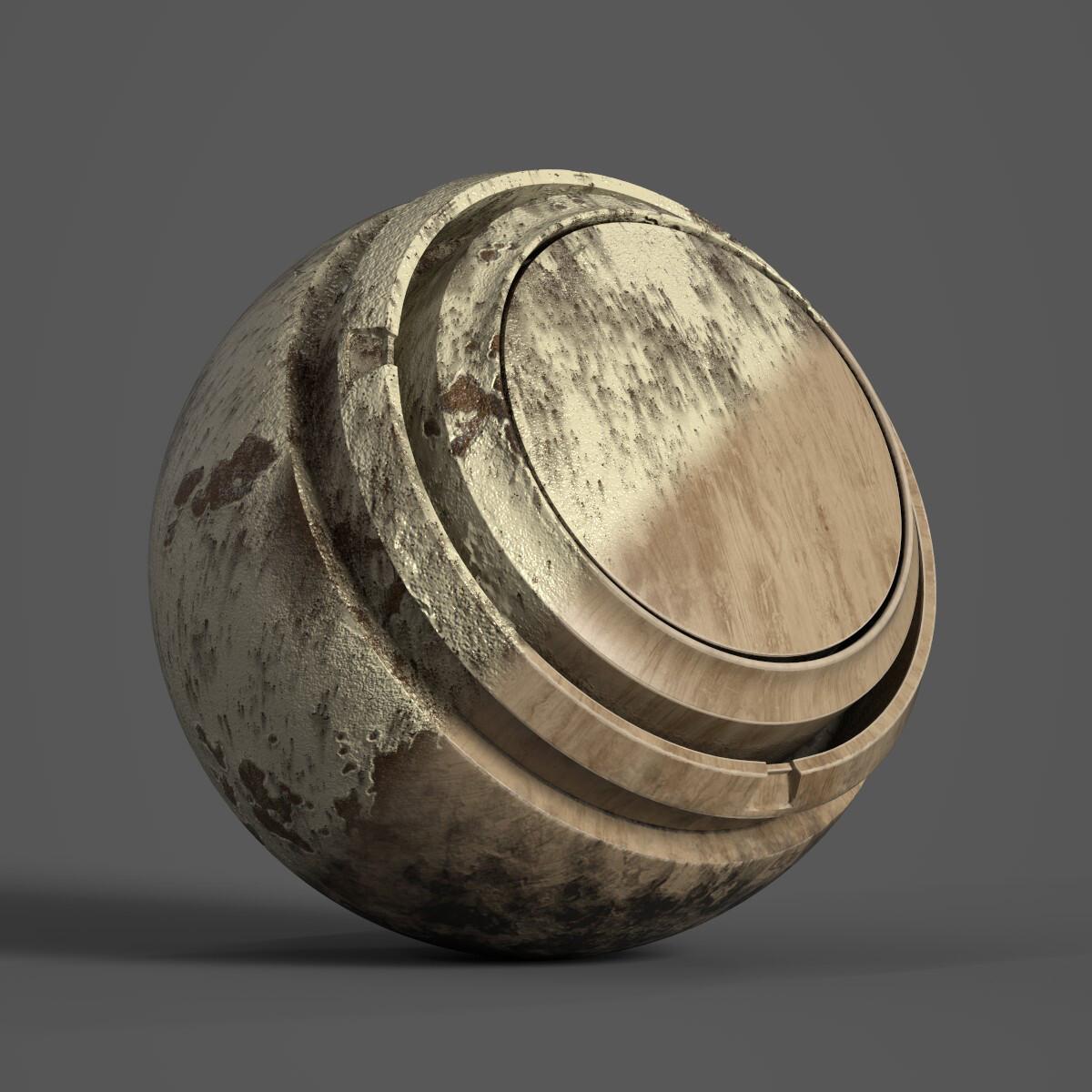 Material Sphere