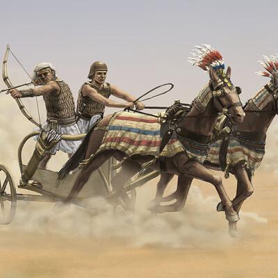 Simon seitz egypt chariot color 2020 08 01