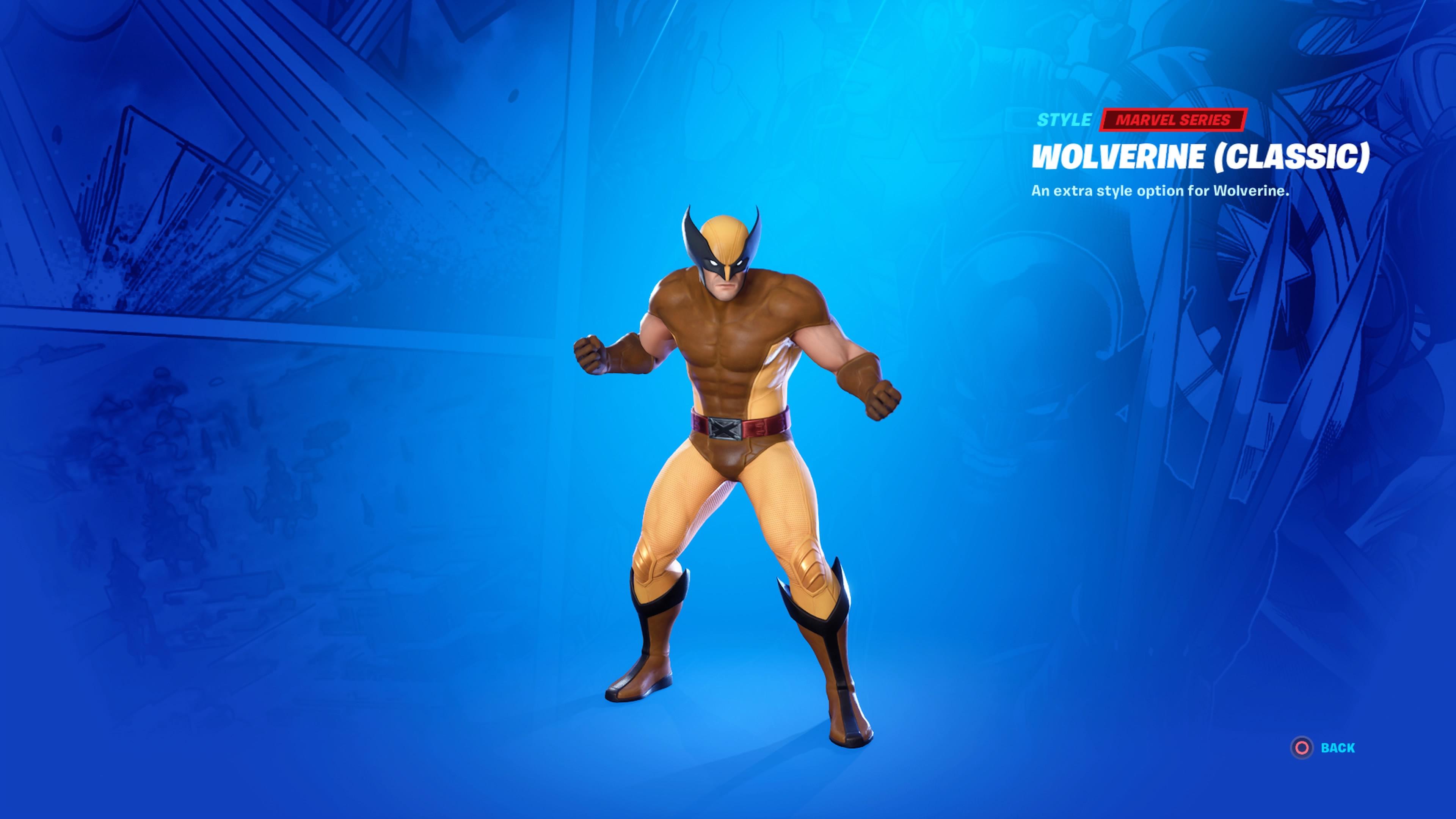Artstation Fortnite Wolverine Skin Both Variants Justin Holt