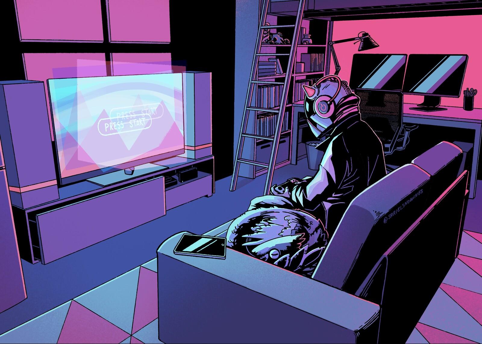 Cyberpunk Gaming