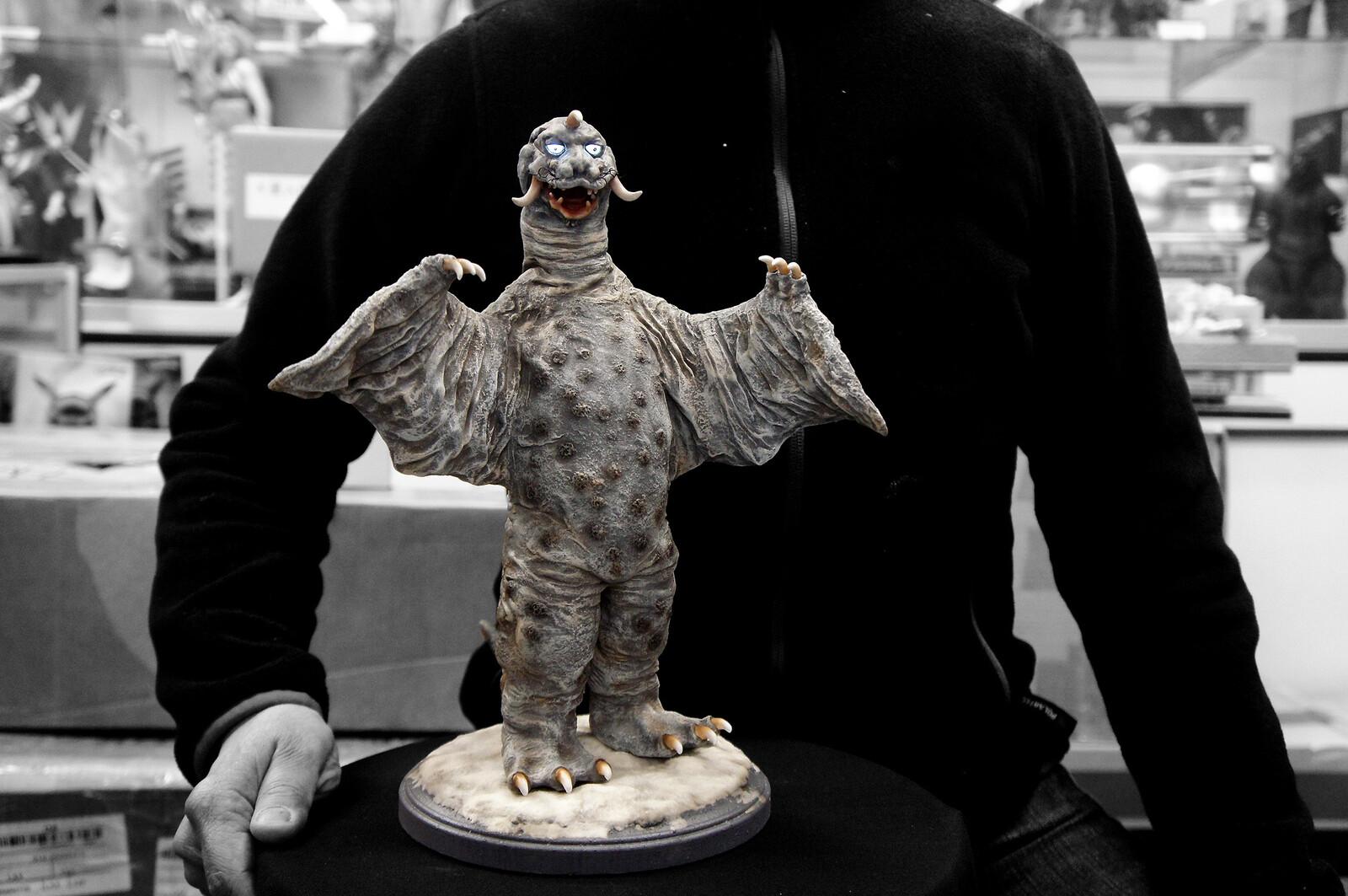 Ultra Q : Pegila (Freezing Monster) Art Statue 冷凍怪獣 ペギラ https://www.solidart.club/