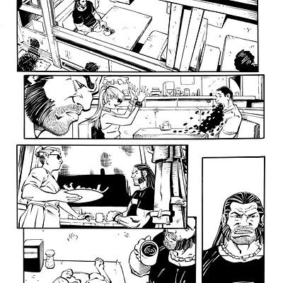 Ben herrera grail issue 1 inks pg 01 changes