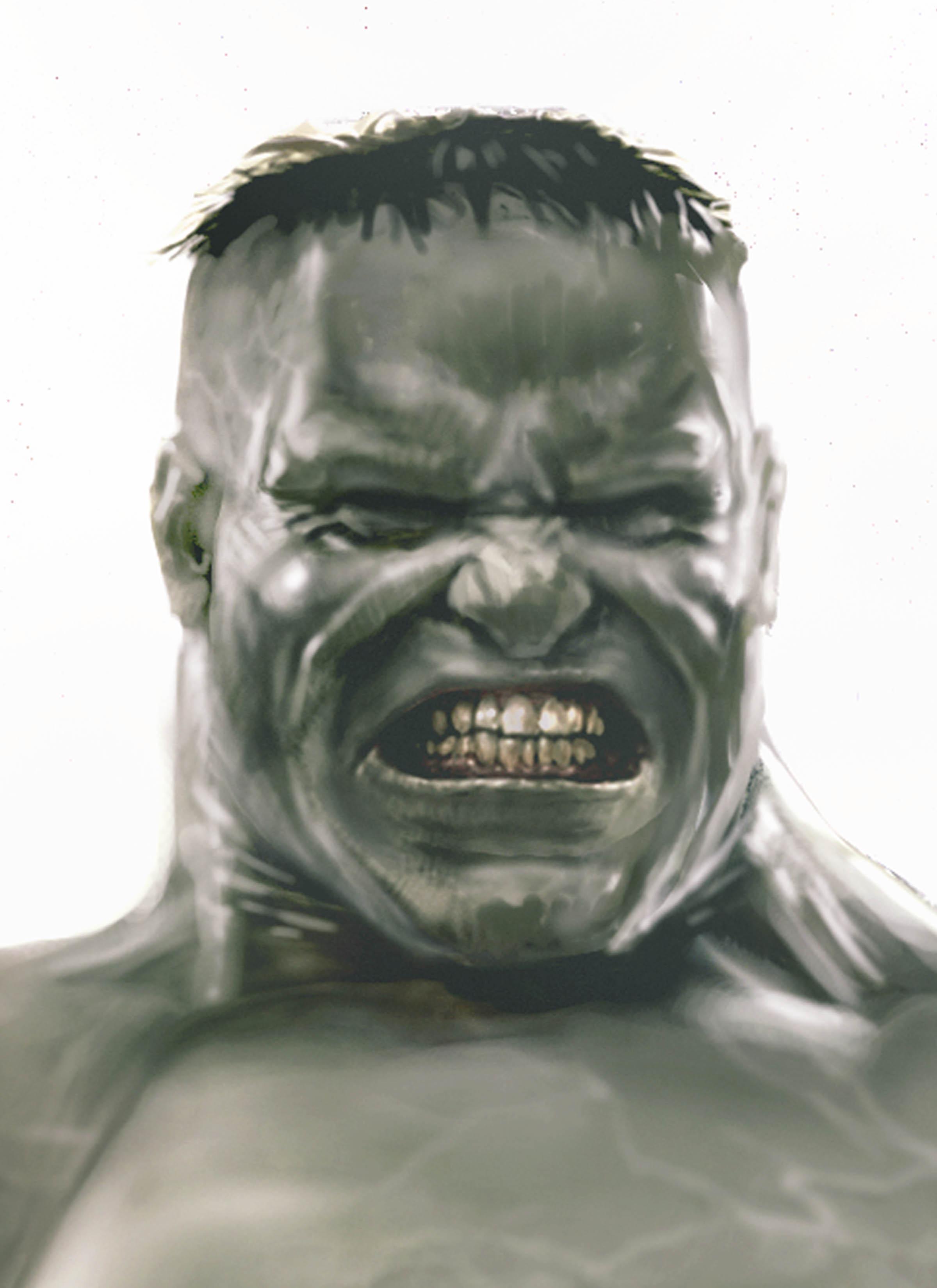 Hulk Close up