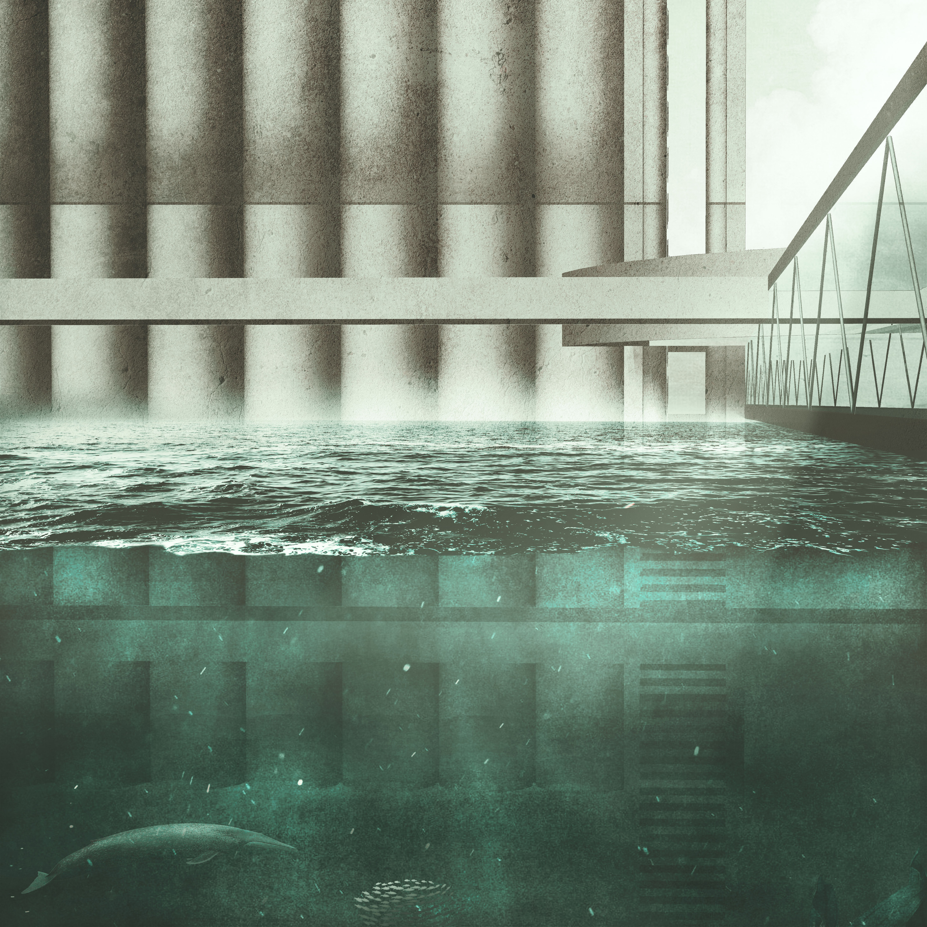 Oceanic Architecture - Day Surface/Subsurface