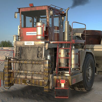Rafael lugo truck 24