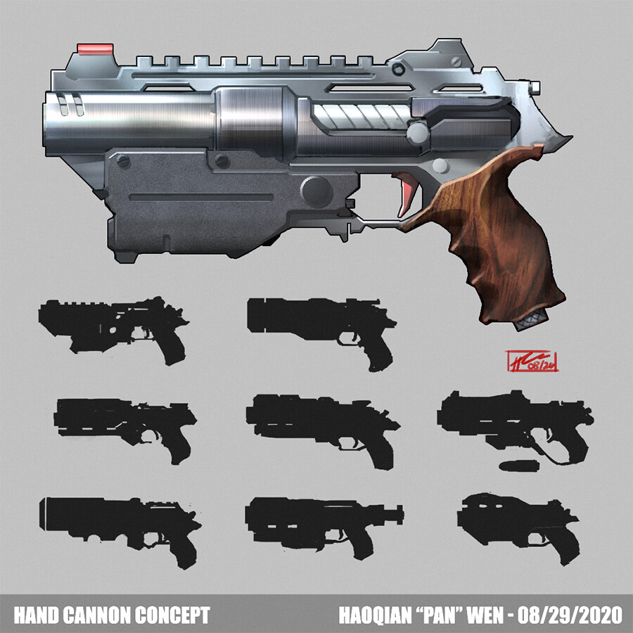 Hand Cannon concept