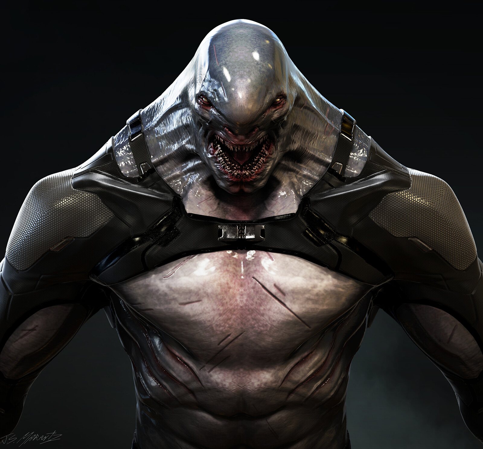 KING SHARK DESIGN for a cancelled game