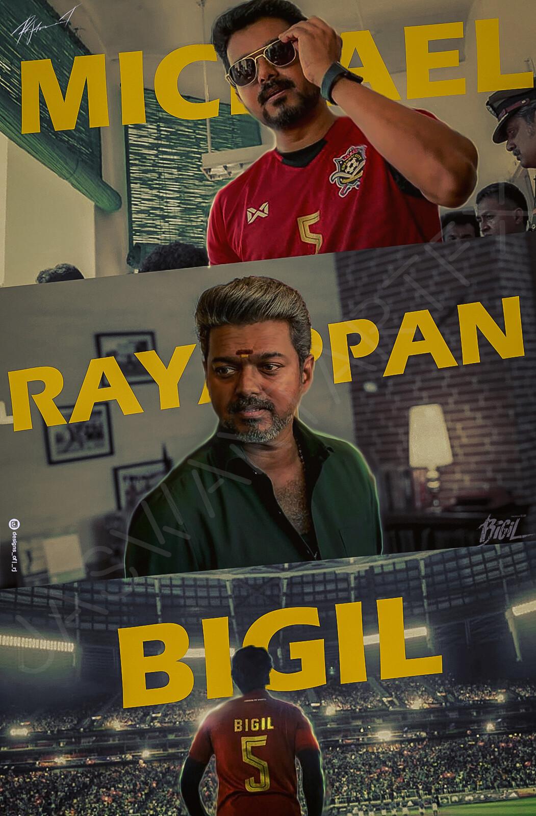 Bigil Poster