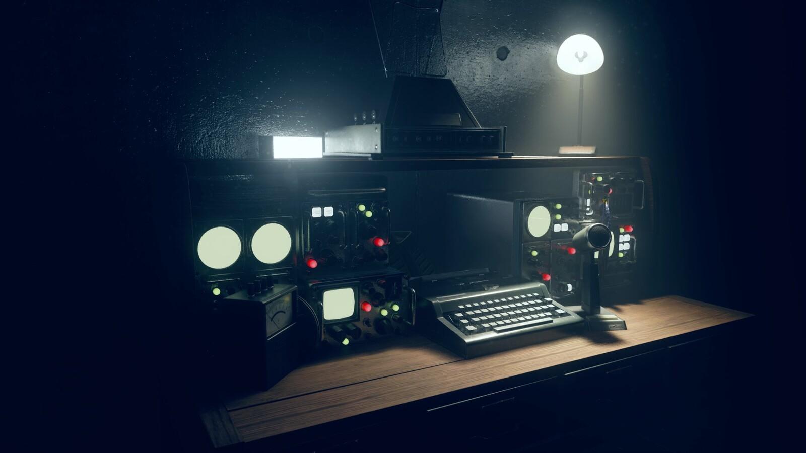 I created the science equipment modules. Screenshot by Ewan Wilson.