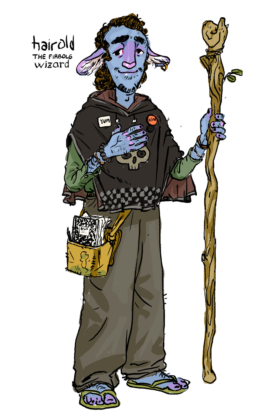 Hairold -- Firbolg Necromancer