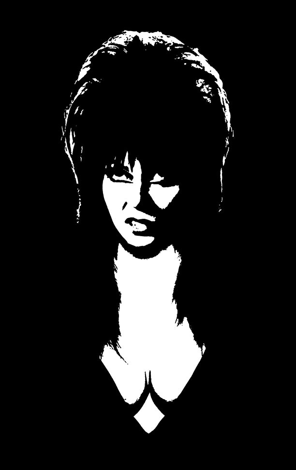 Elvira T-Shirt Print