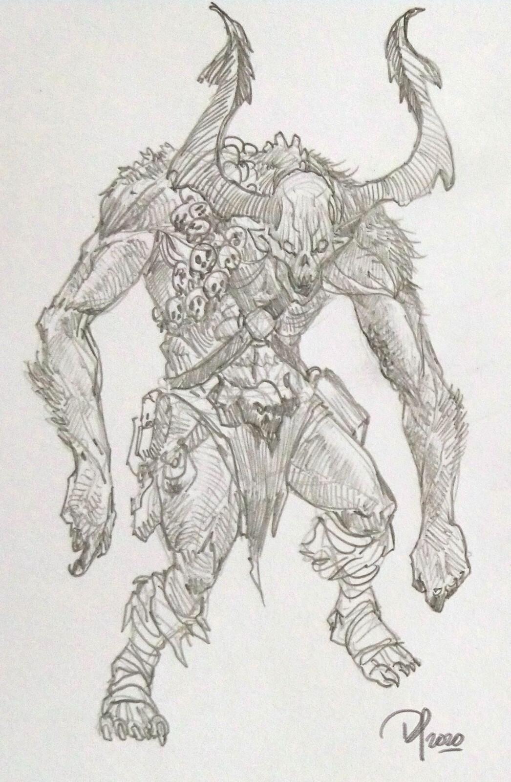 Diablo sketches
