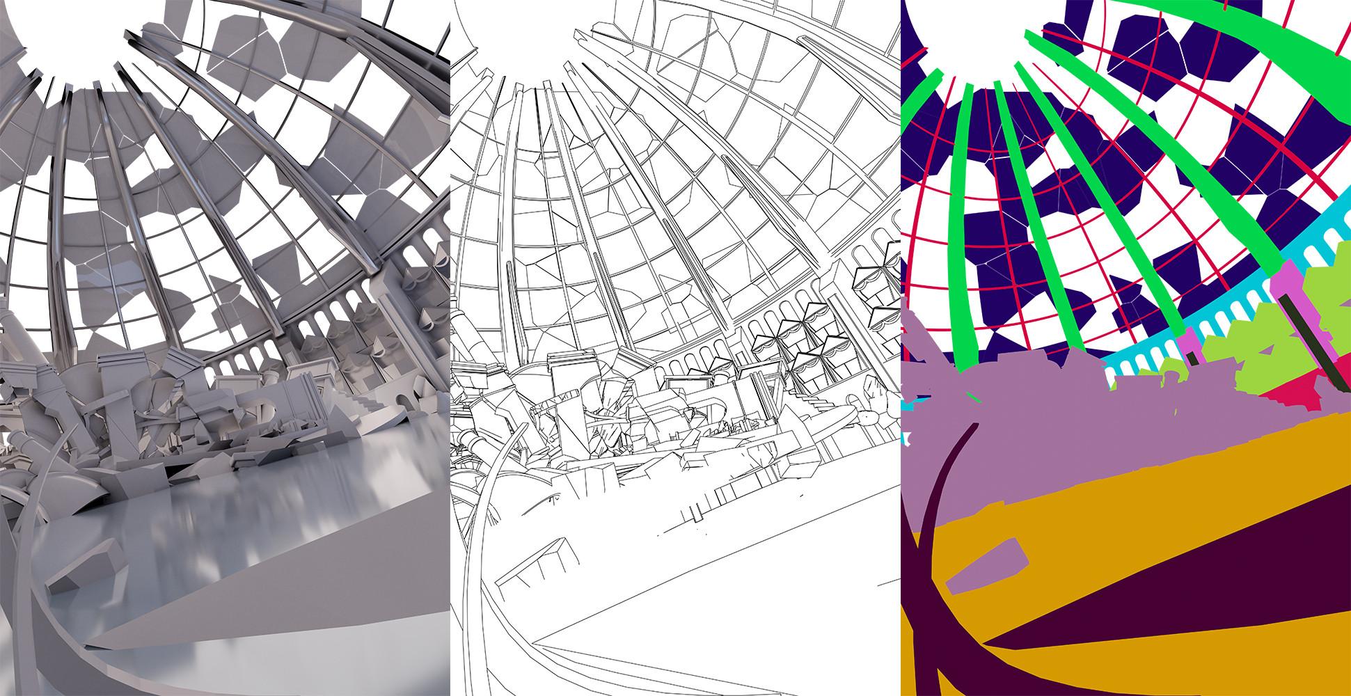 background renders