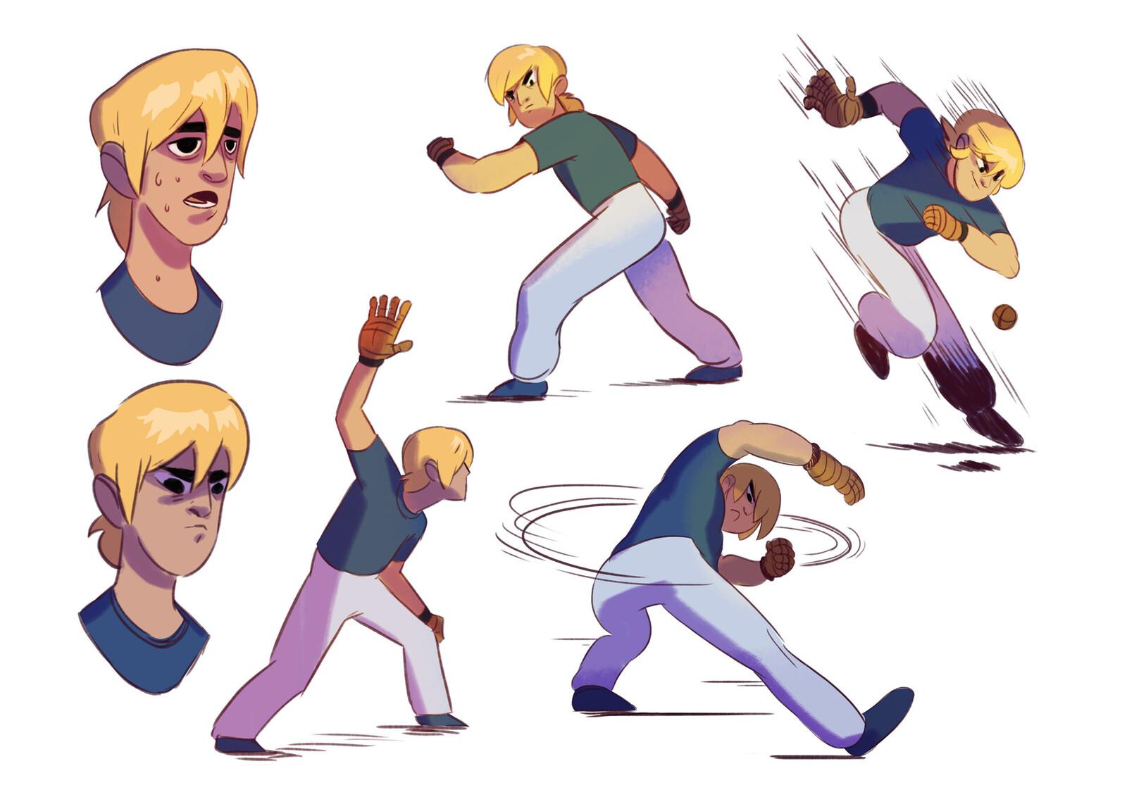 Characters Badana Comic