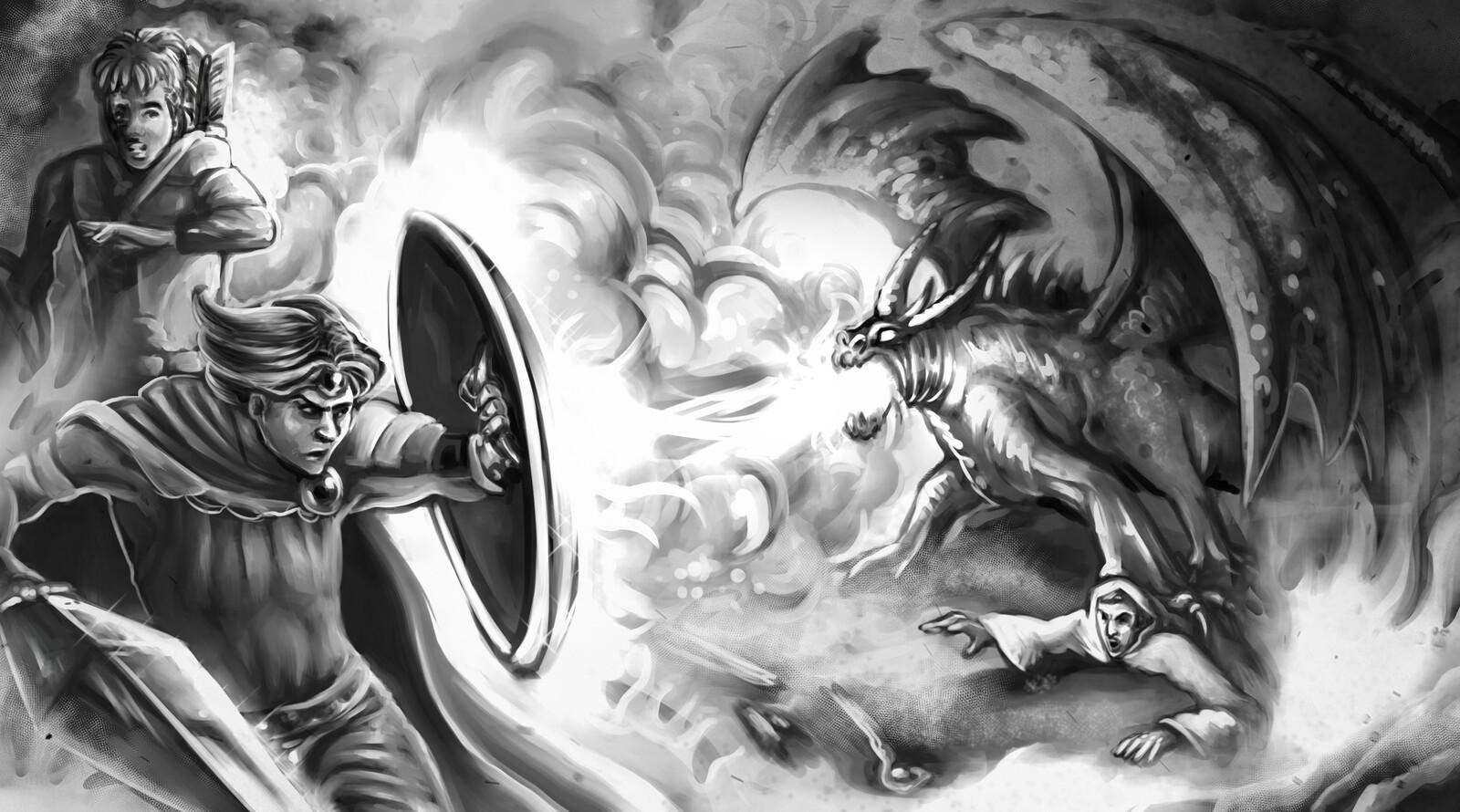 Dragon Hunt art
