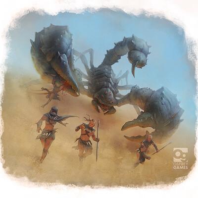 John mccambridge 01 giant scorpion