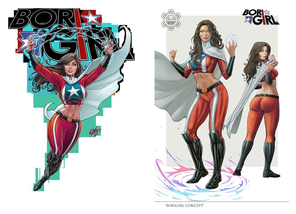Original designs by Omar Casanova