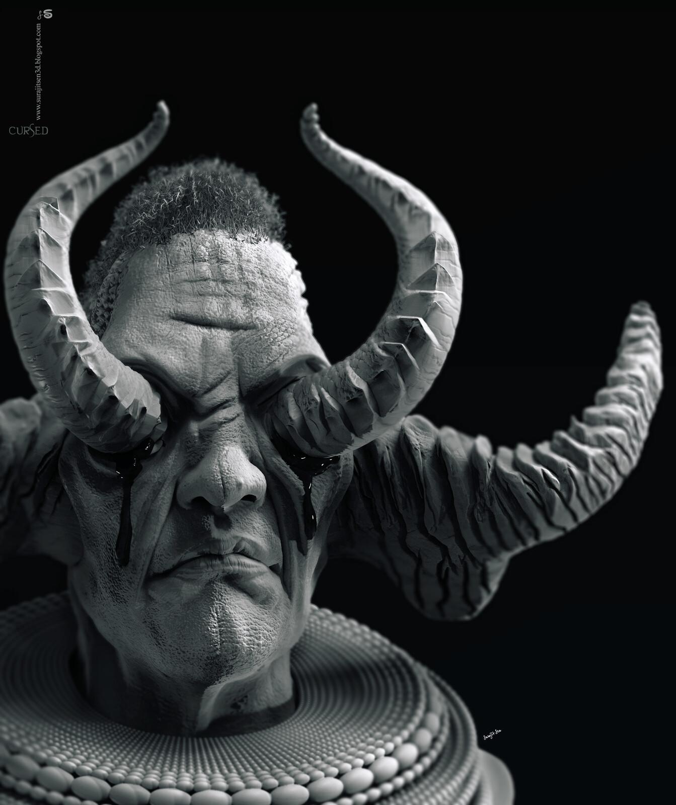 Cursed2.2 Updated version Free time Digital Sculpture Background music- #hanszimmermusic
