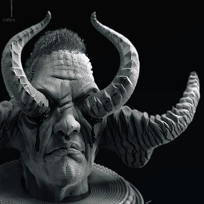 Surajit sen cursed2 2 digital sculpture surajitsen sept2020a