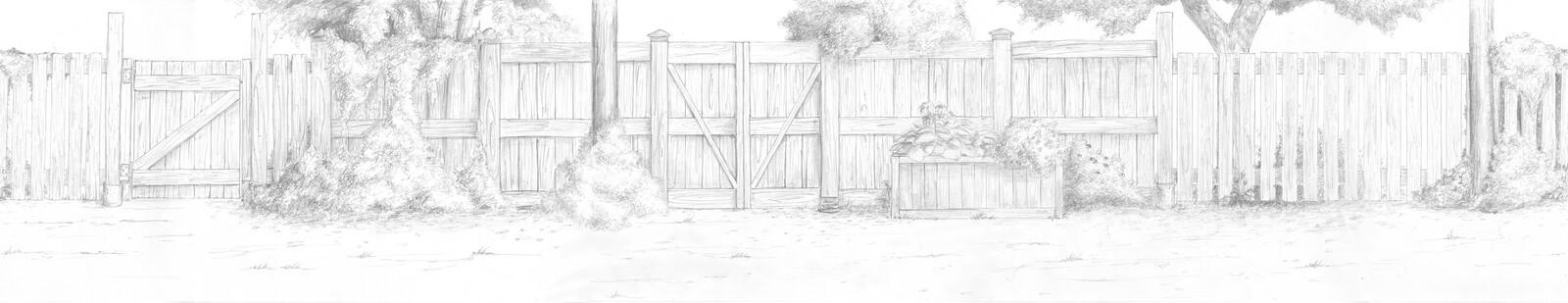 Full hand-drawn background