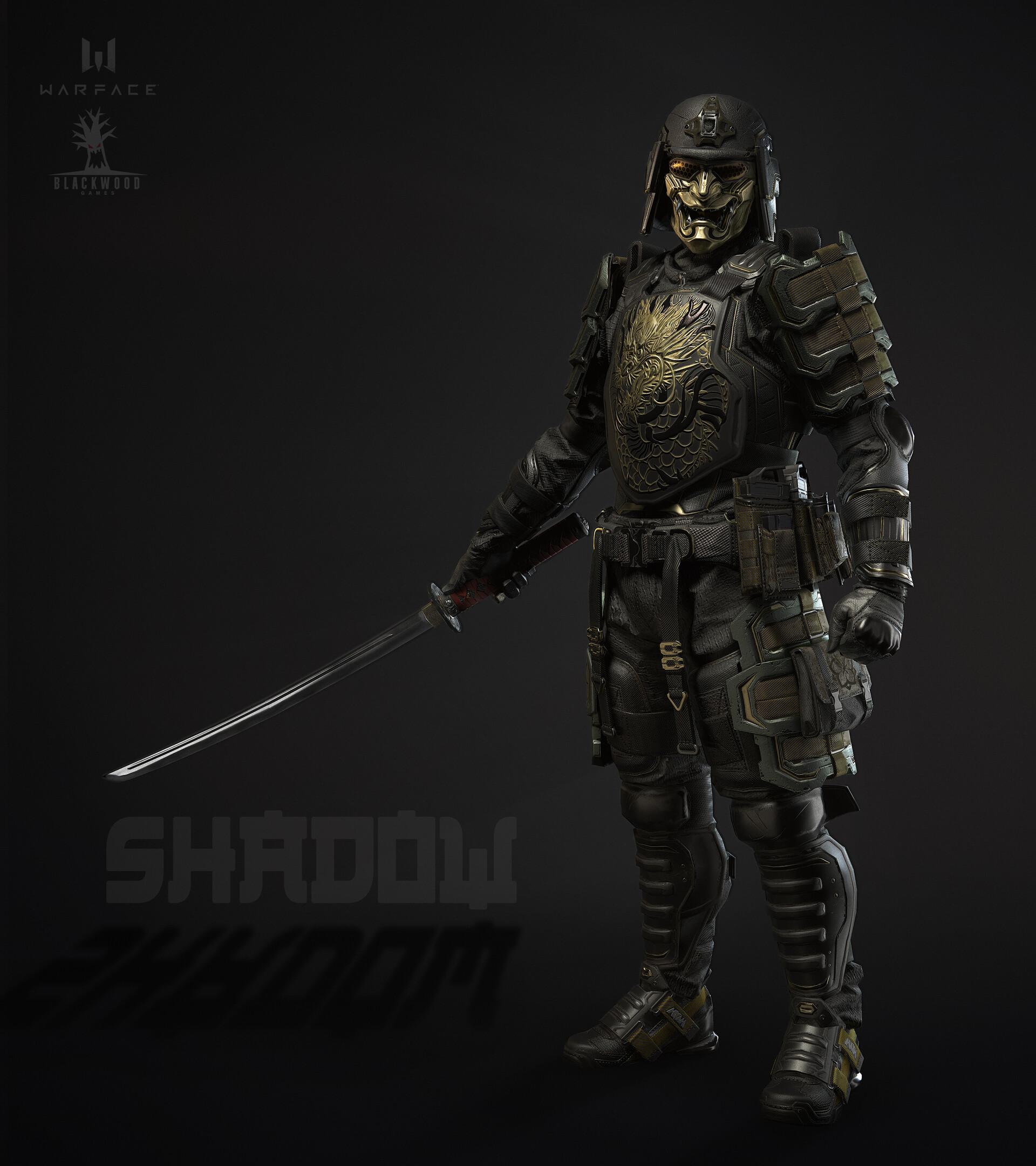 Anatoley Baranov Dark Samurai