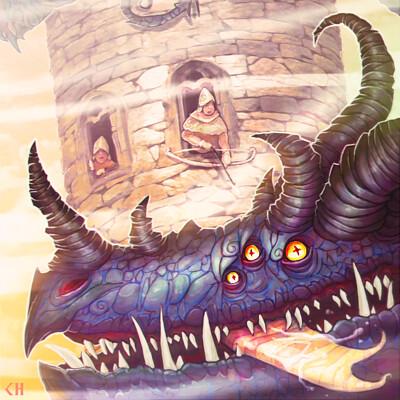 Chema samaniego dragon attack