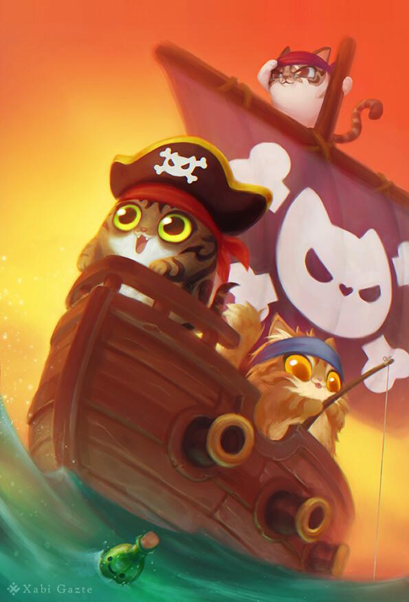 Sailor Cats!
