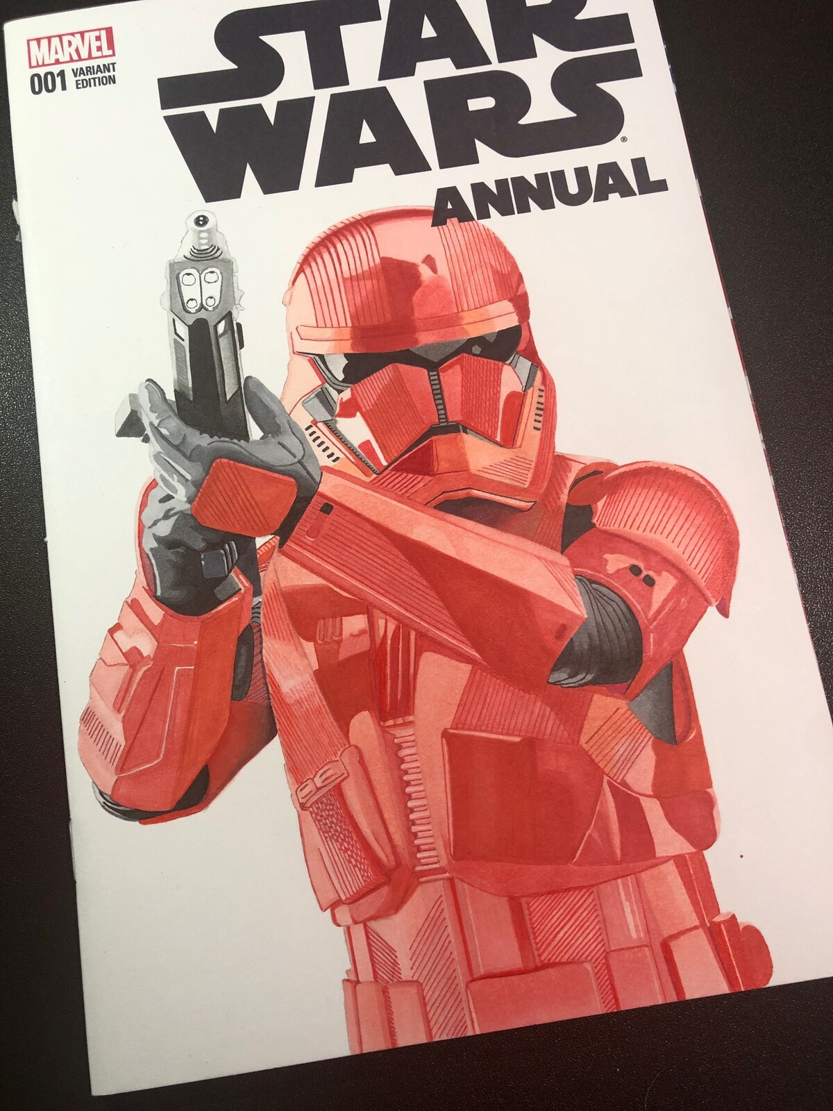 Comic cover art Sith Trooper