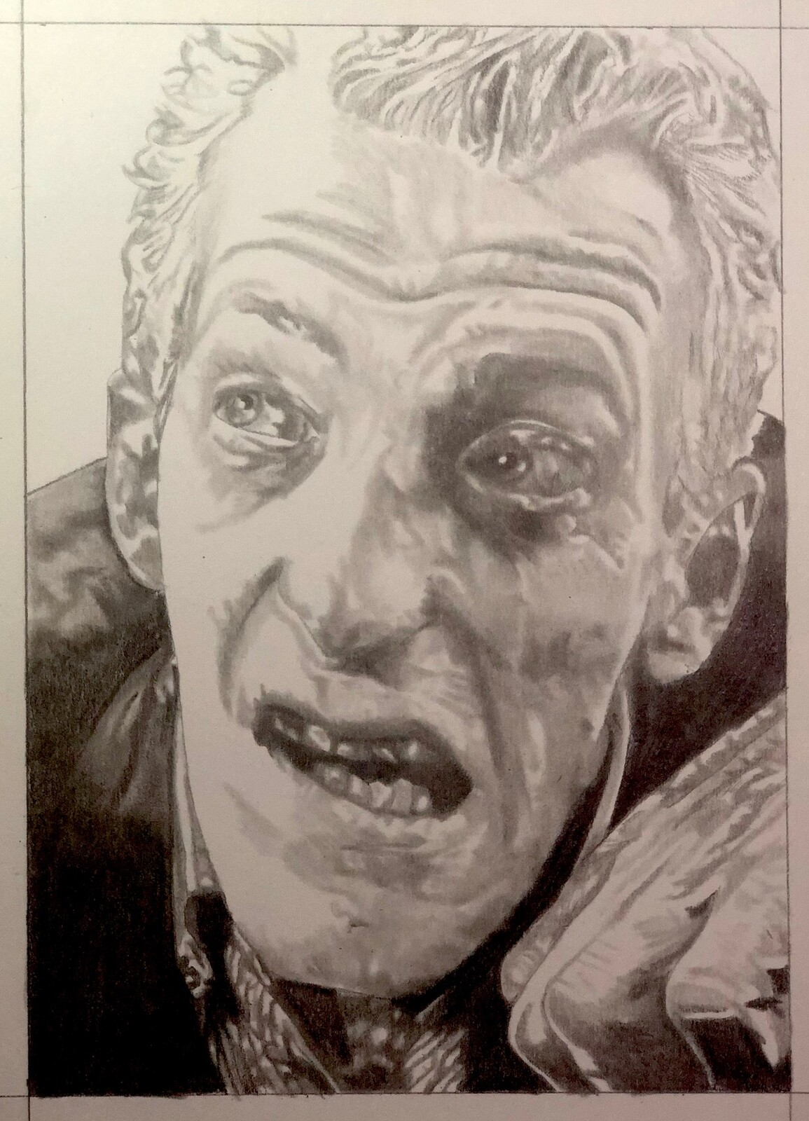 Graveyard Zombie from The Night of the Living Dead