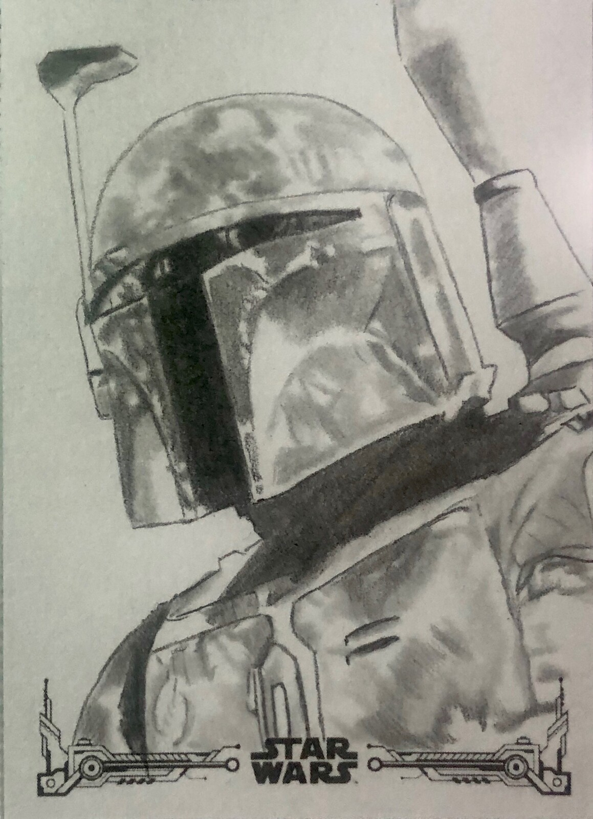 Topps Star Wars Return of the Jedi B&W Officially Licensed art cards