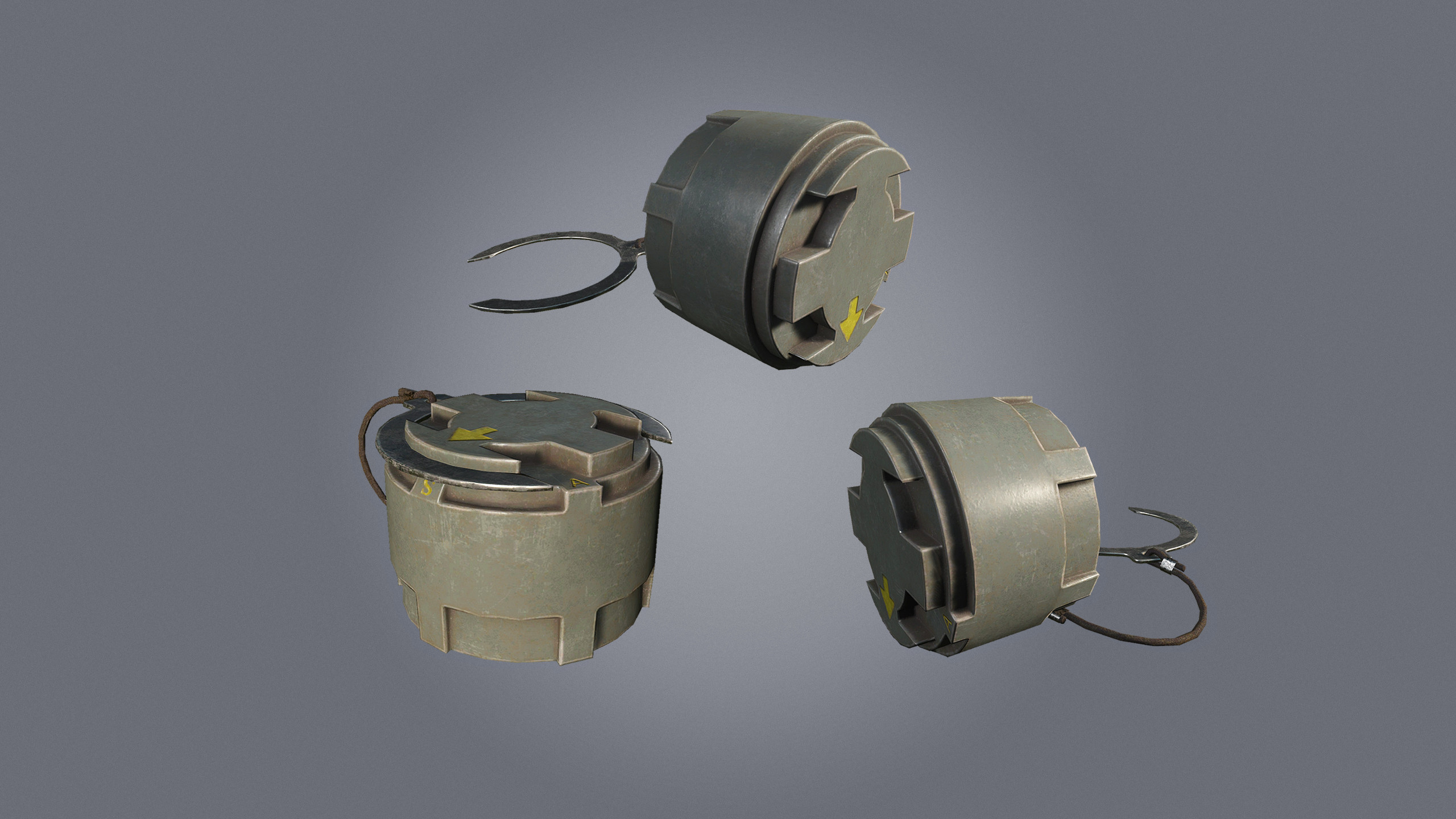 M14 landmine to send your enemies flying